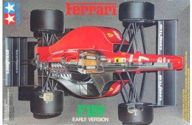 Ferrari F189 (640) Early Version 1989 1/20 - Tamiya - TAM-20023