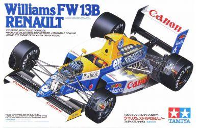 Williams FW13B 1990 1/20 - Tamiya - TAM-20025