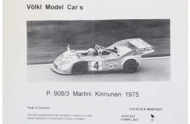Porsche 908/03 Turbo Martini 1000km Spa 1975 1/24 - Völkl Model Car's - VMC-07