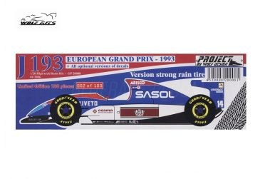 Jordan 193 European Grand Prix 1993 1/20 - Wolf Kits - WK-GP20008