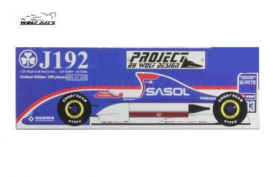 Jordan 192 Yamaha 1992 1/20 - Wolf Kits - WK-GP20009