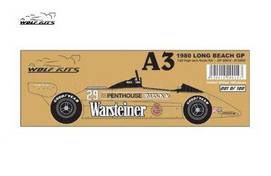 Arrows A3 Long Beach GP 1980 - Wolf Kits - WK-GP20014