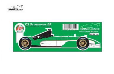 Jaguar R4 British Grand Prix 2003 1/20 - Wolf Kits - WK-GP20021