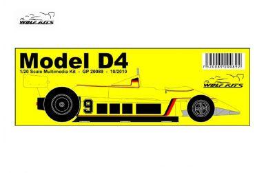 ATS D4 1980 1/20 - Wolf Kits - WK-GP20089