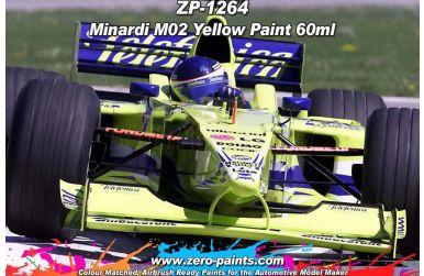 Minardi M02 Yellow Paint 60ml - Zero Paints - ZP-1264