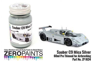 Sauber C9 Mica Silver Paint 60ml - Zero Paints - ZP-1634