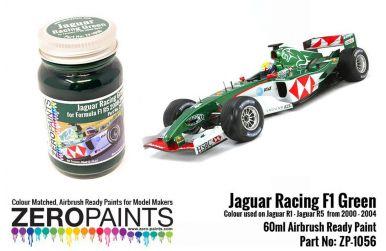 Jaguar Racing F1 Green Paint 60ml - Zero Paints - ZP-1056