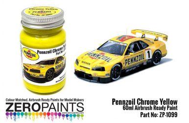 Pennzoil Chrome Yellow Paint 60ml - Zero Paints - ZP-1099