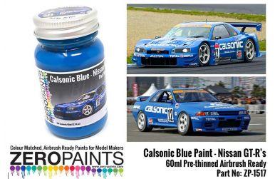 Calsonic Blue Paint 60ml - Zero Paints - ZP-1517